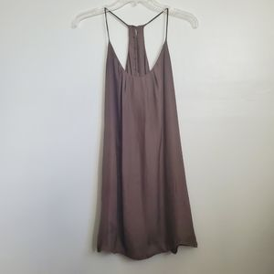 Brown Lucy Love Take Me To Dinner Dress